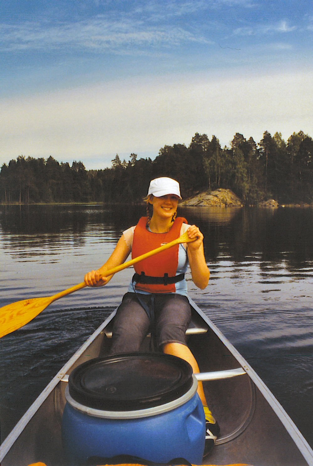 Canoeing in West Sweden